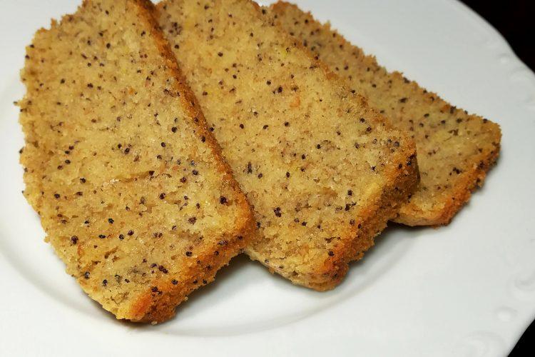 Makový chlebíček s vůní citrónu