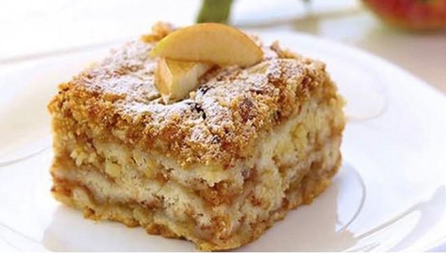 Hrnečkový jablečný koláč se skořicí připravený za pár minut recept