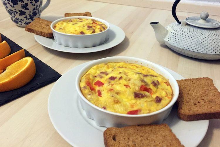 Pečená snídaňová omeleta