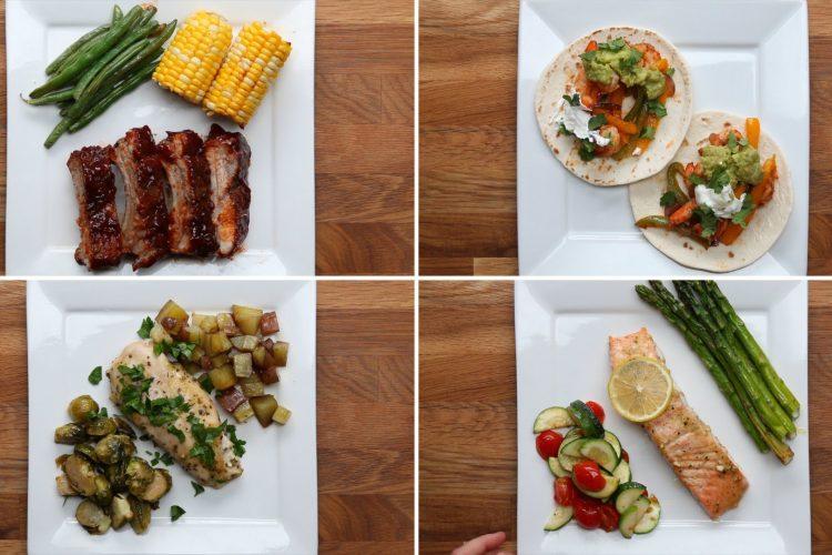 Video: 4 jednoduché večeře z jednoho plechu