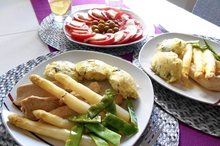 Kuřecí prsa s bramborovo-celerovým pyré