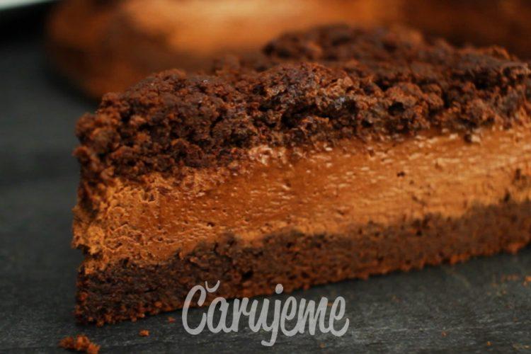 Nejčokoládovější dort na světě, jen ze 3 ingrediencí
