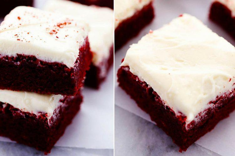 Zamilovaná brownies s vanilkovým krémem