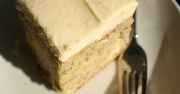 Jemný banánový dort s vanilkovým krémem