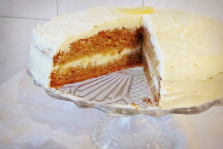 Mrkvový dort s mascarpone