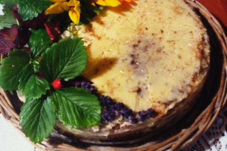 Dýňový koláč s lahodným krémem