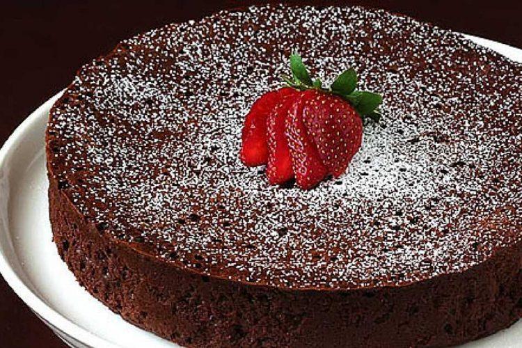 Čokoládový dort bez mouky pouze ze 3 ingrediencí