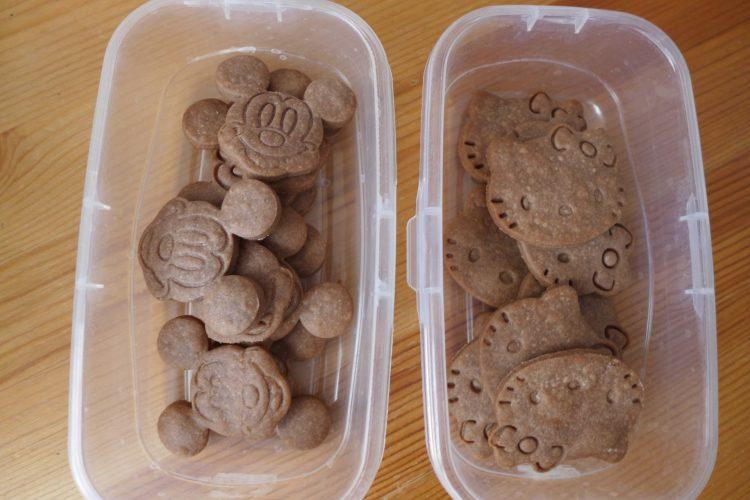 Celozrnné špaldové sušenky