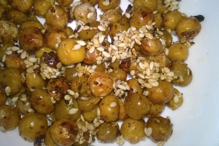 Sezamová pražená cizrna