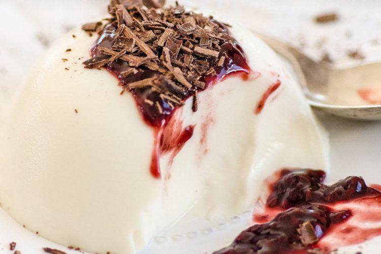 Panna cotta: jednoduchý a rychlý italský dezert (Fotorecept)