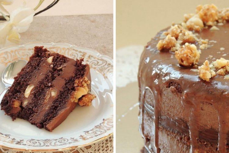 Čokoládový dort Ferrero