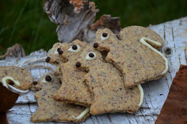 Oříškové sušenky Veverky