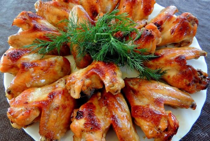 Marinovaná kuřecí křidélka