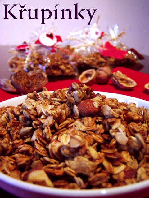 Křupínky – zapékané müsli