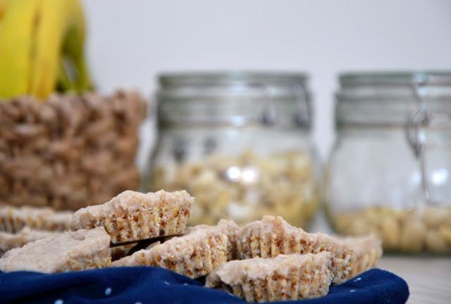 Banánovo-ořechové dortíky (bez lepku a laktózy)