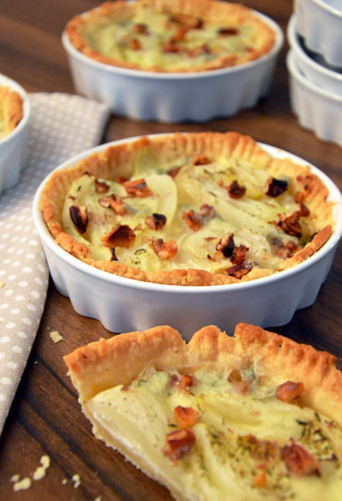 Slané koláče s fenyklem a gorgonzolou