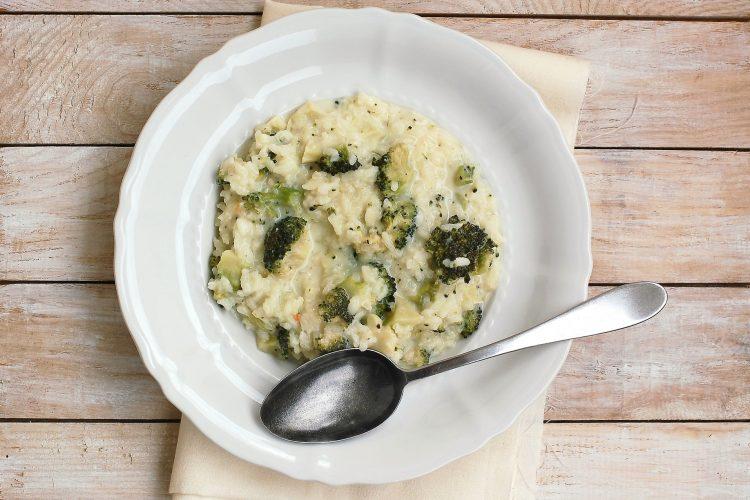 Brokolicové risotto