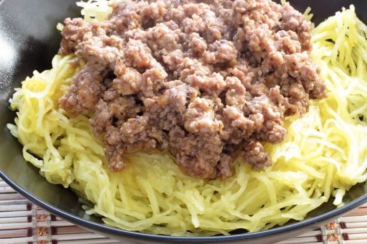 Bezlepkové boloňské špagety