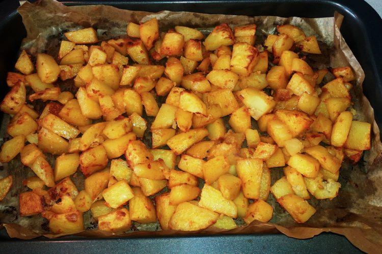 Výborné brambory pečené v troubě