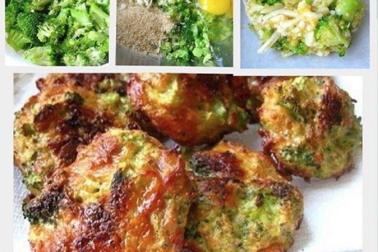 Brokolicové placičky s cheddarem