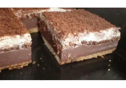 BE-BE řezy s čokoládou – nepečené, jednoduché a výborné