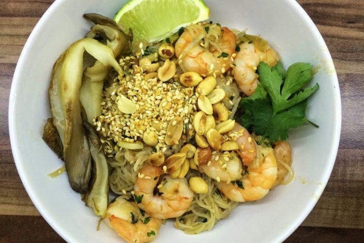Rýžové nudle inspirované Jamiem Oliverem