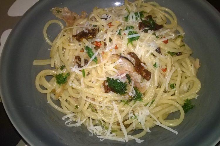 Špagety siciliana