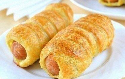 Plnený hot dog trochu inak. Jednoduchšie a chutnejšie.