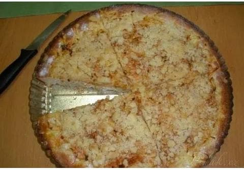 Arabelčin RYCHLÝ, VÝBORNÝ jablečný koláč z kysané smetany