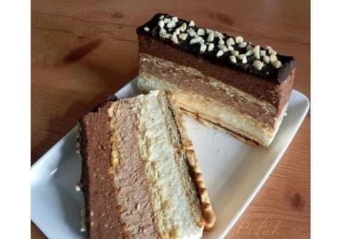 Čokoládová trojka – nepečený chlebíček – a nejen to