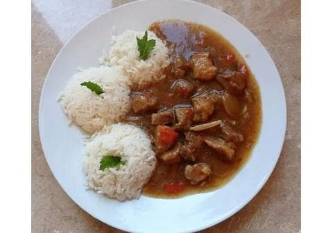 Čínská směs s rýží