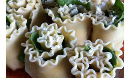 Lasagne – rolky so špenátom. Krásna dobrota ktorá zaujme nielen výzorom ale aj chuťou.
