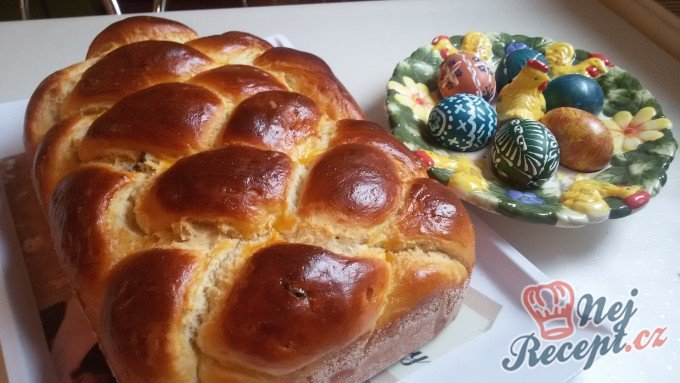 Naše tradiční velikonoční pečivo nazývané PASCHA