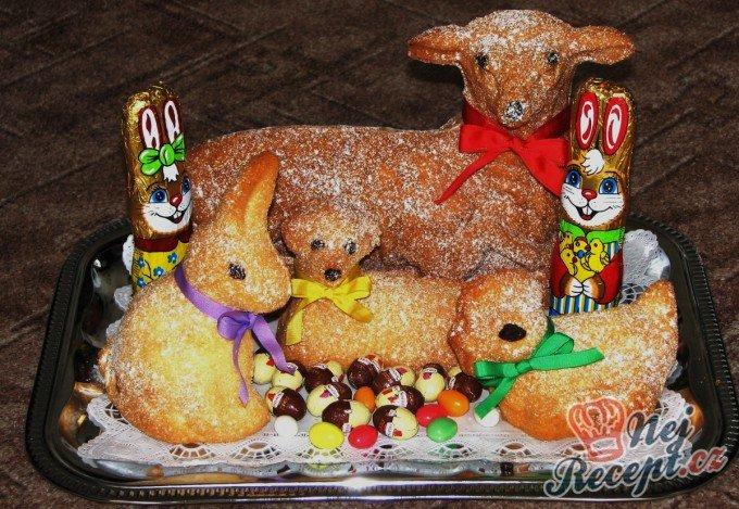 Velikonoční beránek – velký i malý