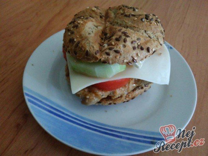 Kuřecí burger za 15 minut