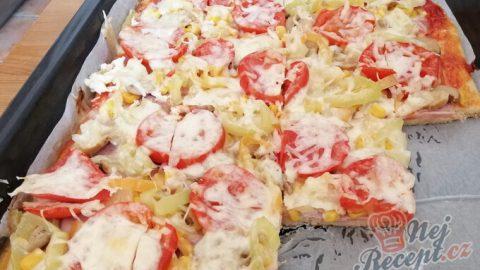 Fantastická domácí pizza bez droždí (bez kynutí)