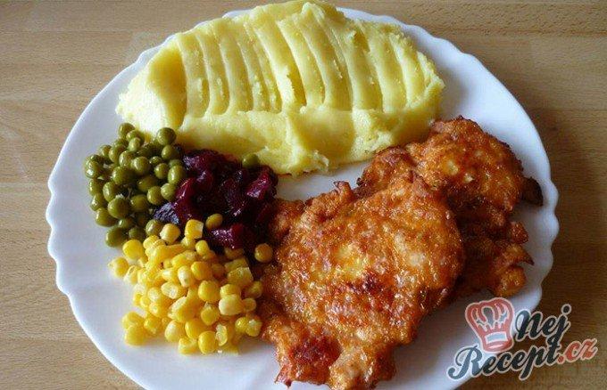 Kuřecí placky s dietní salámem