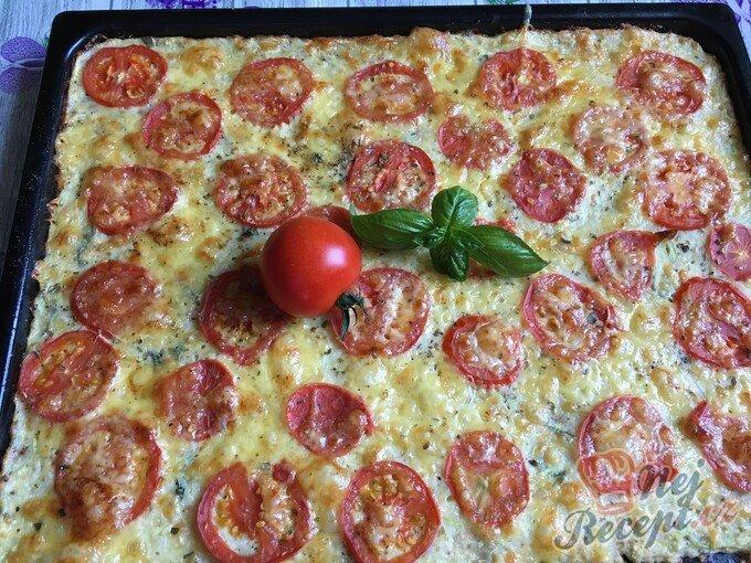 Neodolatelná cuketová pizza