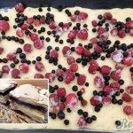 Krakovský ovocný koláč s křehkou pěnou