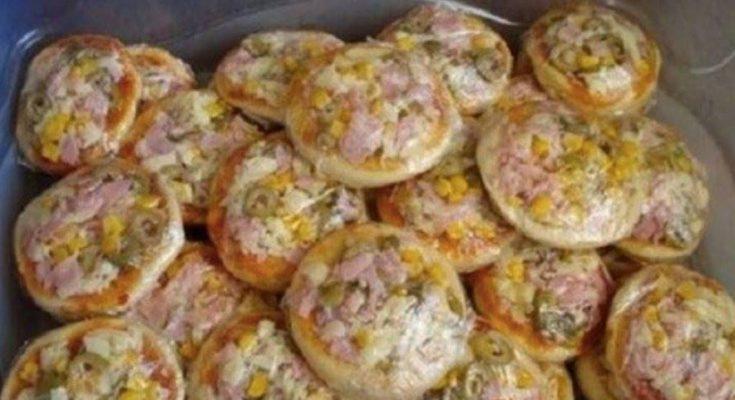 Recept na perfektné a rýchle mini pizze z jogurtu, ktoré sú mäkké aj na druhý deň: Sú báječné!