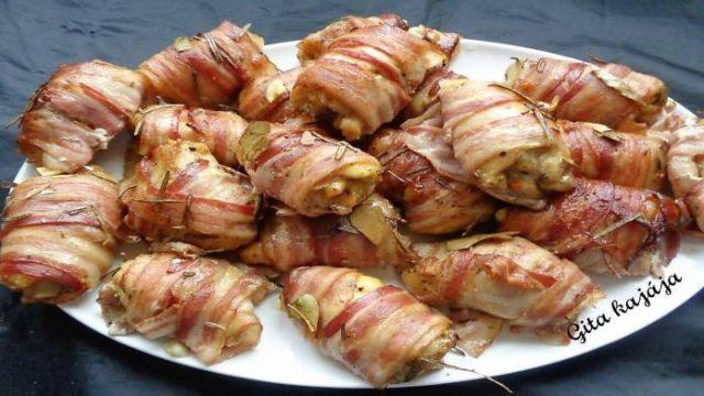 Pikantné luxusné kuracie stehienka so slaninou: Rýchla a chutná večera alebo famózne pohostenie pre hostí!