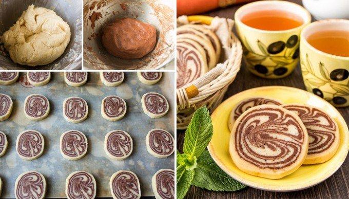 Výborné kakaové sušenky s vanilkou