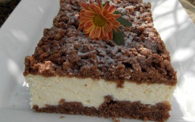 Tvarohový koláč ze zmrzlého těsta