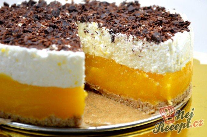 Meruňkovo-jogurtový dort BEZ PEČENÍ