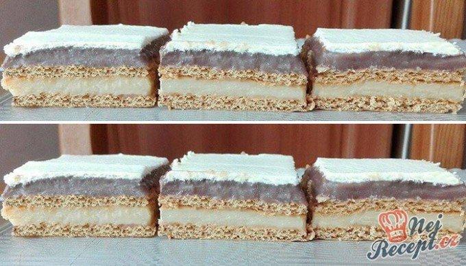 Nepečené vanilkovo-čokoládové kostky