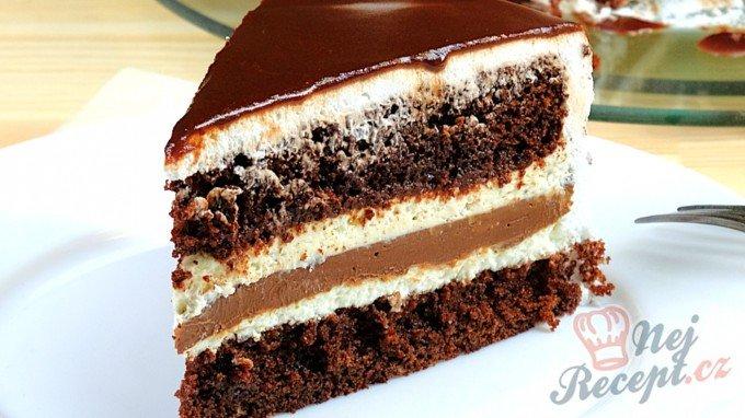 Lahodný čoko-mascarpone dort