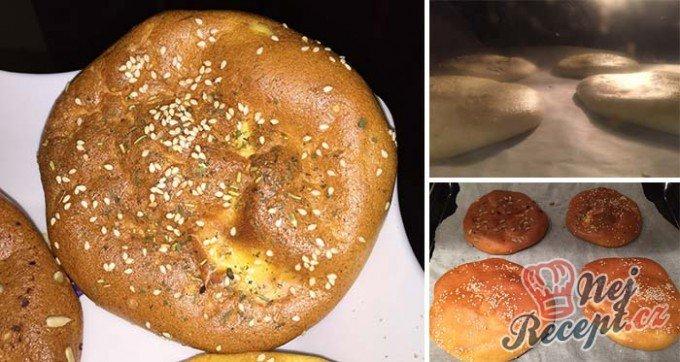 FITNESS recept na pečivo bez mouky ze 3 surovin
