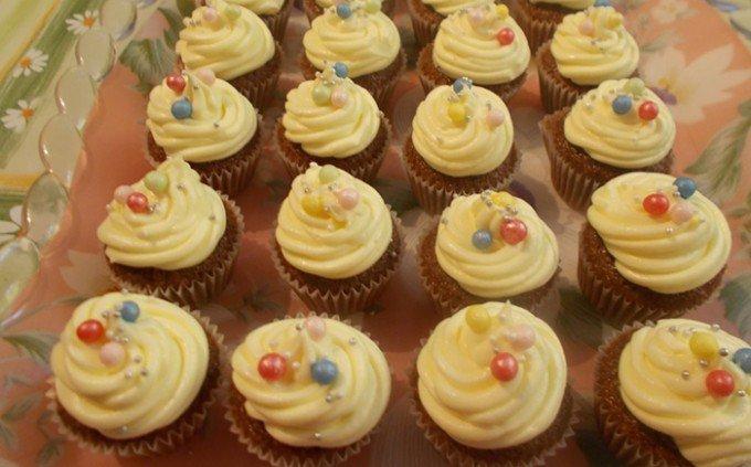 Cupcakes s vanilkovým krémem od Katky