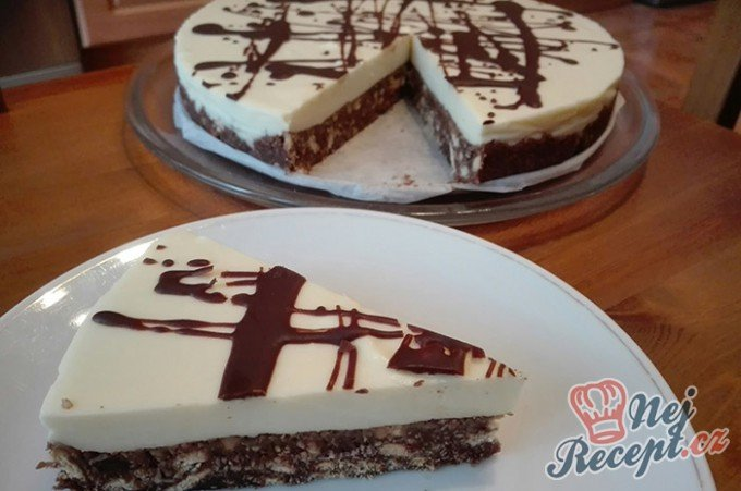 Slavnostní smetanový dort bez pečení