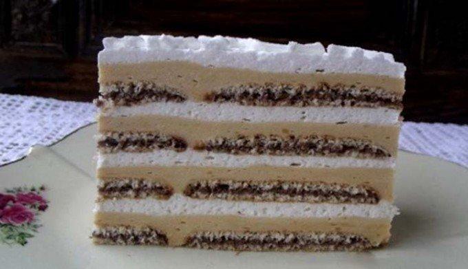 Šeherezáda – nepečený dort